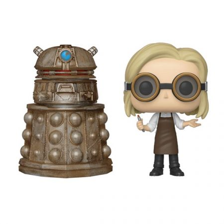 Doctor Who Pack POP 13th Doctor + Reconnaissance Dalek | Double Project