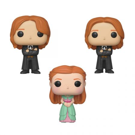Harry Potter Pack POPs Hermanos Weasley (Yule) | Double Project