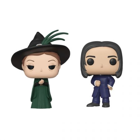 Harry Potter Pack POP Minerva McGonagall + Severus Snape (Yule) | Double Project