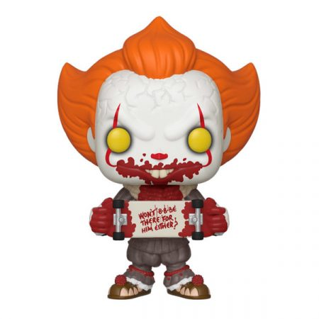 It Chapter 2 POP Pennywise with Skateboard   Double Project