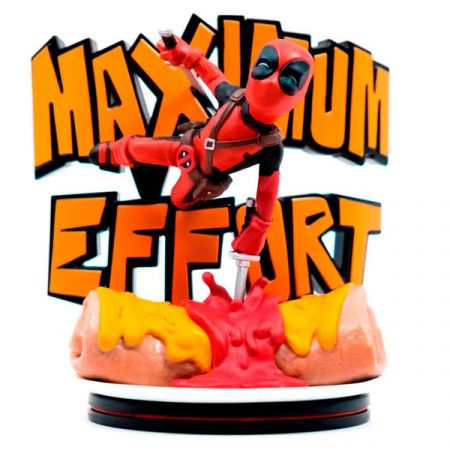 Marvel Q-fig Figura Máximo Esfuerzo Deadpool | Double Project