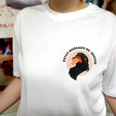 Camiseta estoy rodeado de idiotas | Double Project