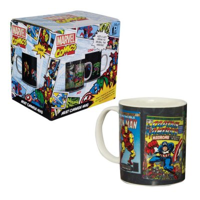 Marvel taza sensitiva al calor portadas | Double Project