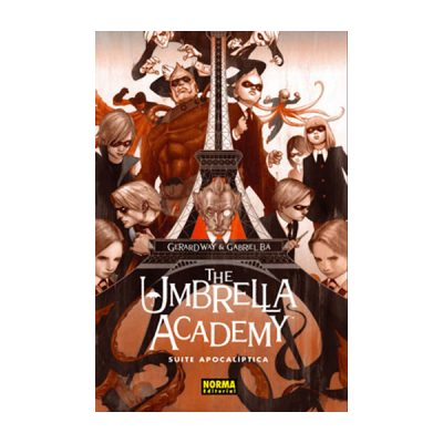 Cómic The Umbrella Academy 1: Suite apocalíptica