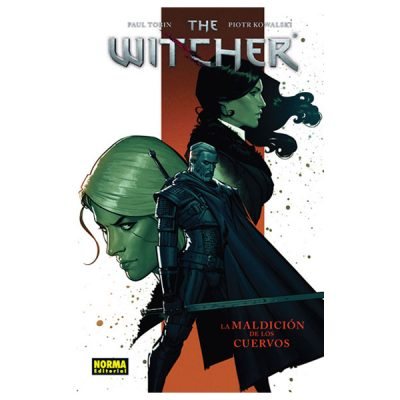Cómic The Witcher 3 La maldición de los cuervos | Double Project