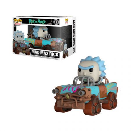 Rick & Morty POP Ride Mad Max Rick | Double Project
