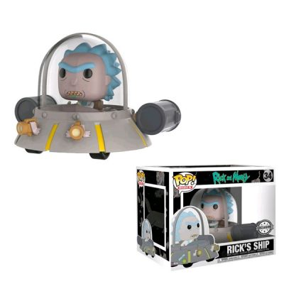 Rick & Morty POP Space Cruiser Exclusive | Double Project