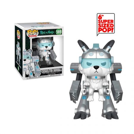 Rick & Morty POP Super Sized Exoskeleton Snowball | Double Project
