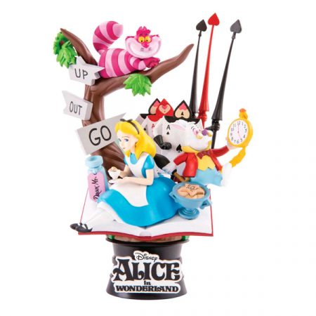 Disney Figura Diorama Alicia en el país de las maravillas   Double Project