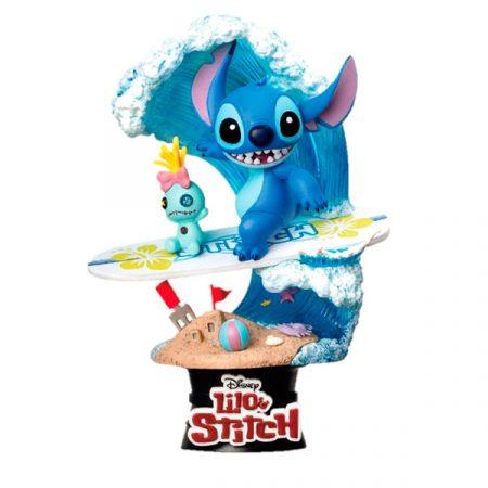 Disney Figura Diorama Stitch Surf | Double Project