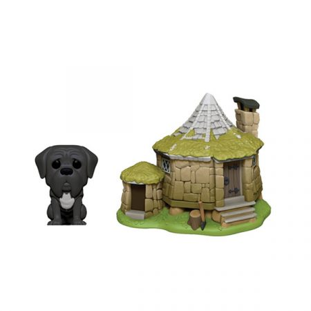Harry Potter POP! Town Hadrid's Hut with Fang | Double Project