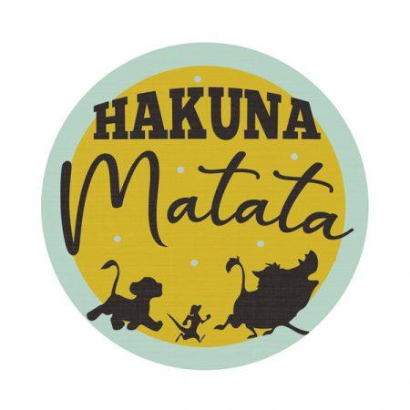 Parche Hakuna Matata | Double Project