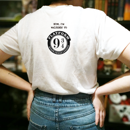Camiseta My letter from Hogwarts | Double Project