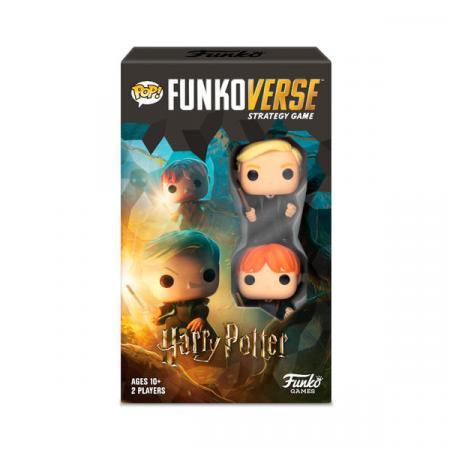 Juego mesa POP Funkoverse Harry Potter 2fig Español | Double Project