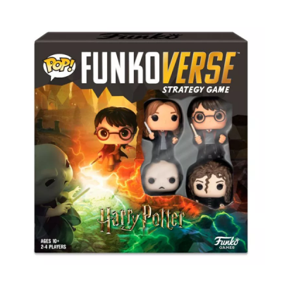 Juego de mesa POP Funkoverse Harry Potter 4fig Español | Double Project