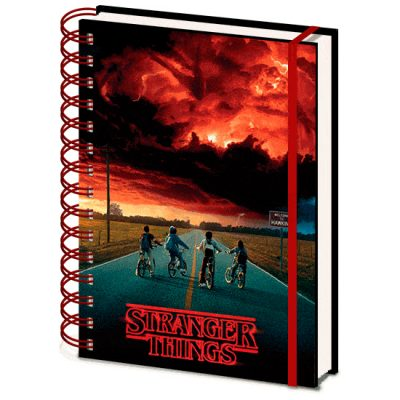 Stranger Things libreta lenticular A5 | Double Project