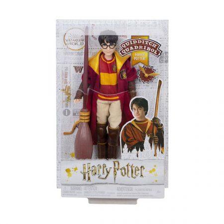 Harry Potter Muñeco Mattel Harry Potter uniforme Quidditch | Double Project