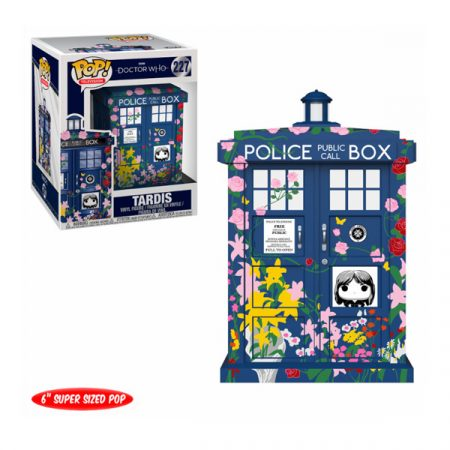 Doctor Who POP Who Tardis Clara memorial | Double Project