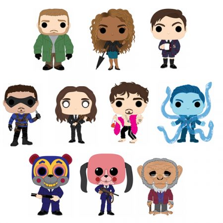 The Umbrella Academy Pack colletion POPs | Double Project