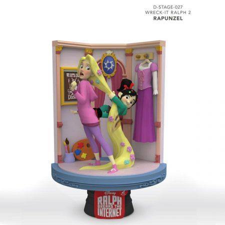 Disney Figura Diorama Ralph Rompe Rapunzel & Vanellope   Double Project