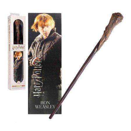 Harry Potter Varita Ron Weasley+ marcapáginas 3d | Double Project