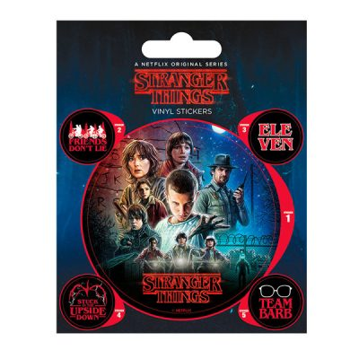 Set Vinilos Stranger THings | Double Project
