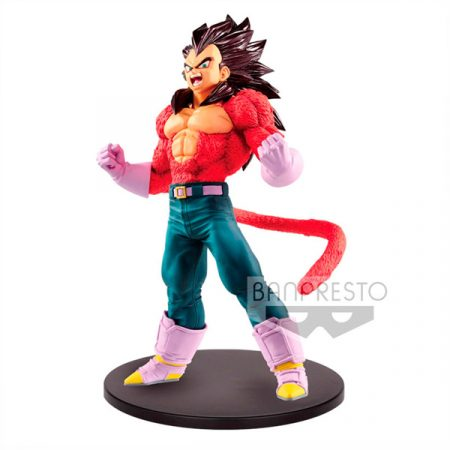 Dragon Ball GT Figura Super Saiyan Vegeta Metallic Hair Color Blood of Saiyans 20cm | Double Project