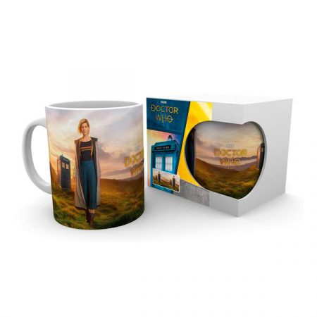 Doctor Who Taza 13th Doctor   Double Project