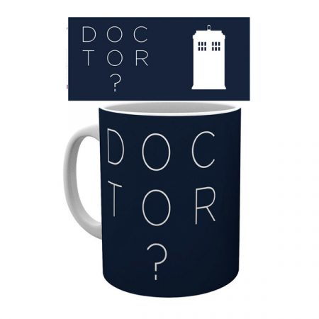 Doctor Who Taza Who Type | Double Project