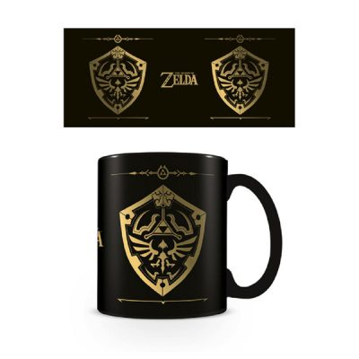 The Legend of Zelda Taza Escudo Hyliano | Double Project