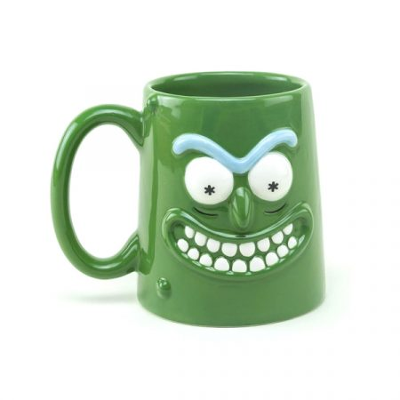 Rick & Morty Taza 3D Pickle Rick   Double Project