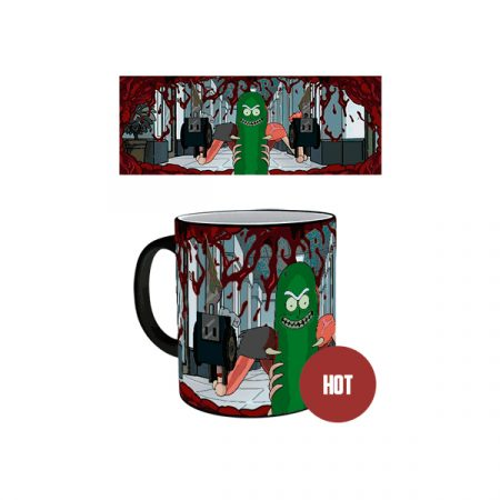 Rick & Morty Taza termica Pickle Rick | Double Project