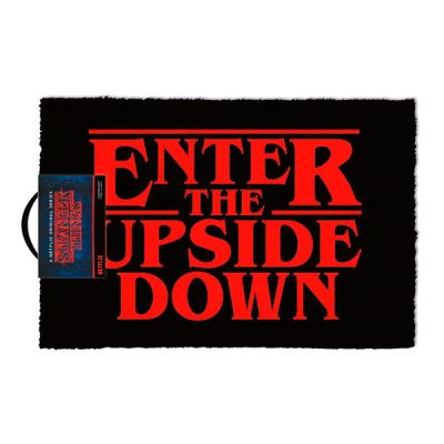 Stranger Things Felpudo Enter The Upside Down | Double Project