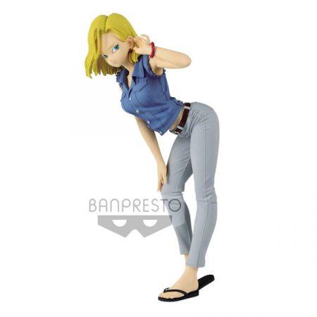 Dragon Ball Z Figura Banpresto Figura Android 18 Glitter & Glamours Version A   Double Project