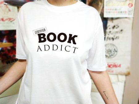 Camiseta Certified Book Addict | Double Project
