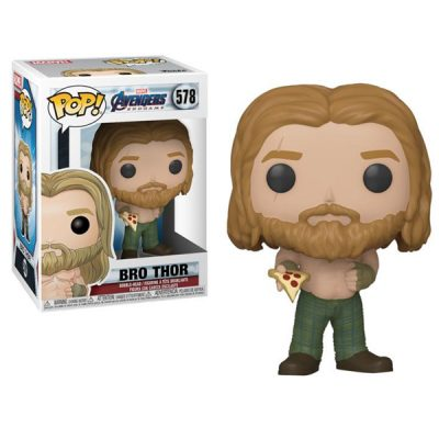 Marvel Endgame POP Bro Thor with pizza | Double Project