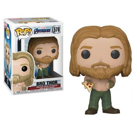 Marvel Endgame POP Bro Thor with pizza   Double Project