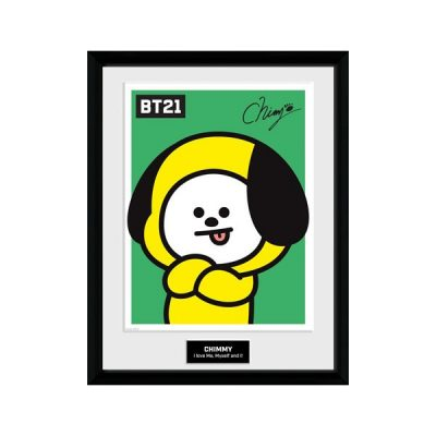 BT21 Póster enmarcado Chimmy | Double Project