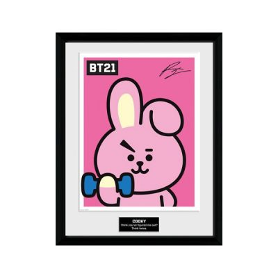 BT21 Póster enmarcado Cooky | Double Project