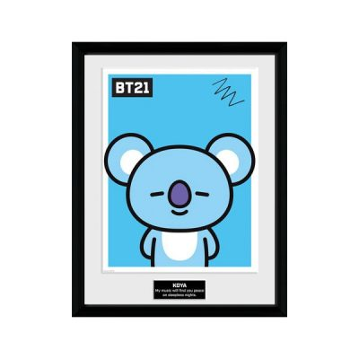 BT21 Póster enmarcado Koya | Double Project