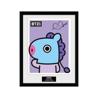 BT21 Póster enmarcado Mang | Double Project