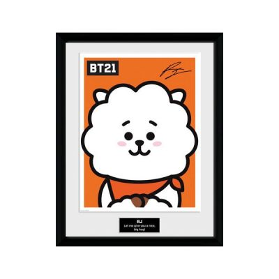 BT21 Póster enmarcado RJ | Double Project