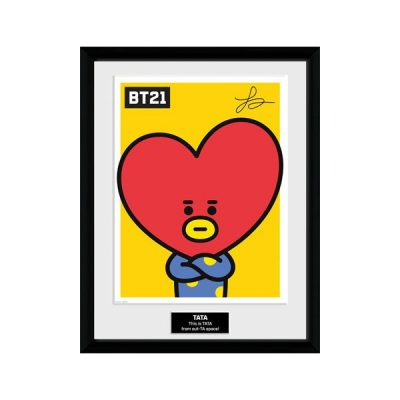 BT21 Póster enmarcado Tata | Double Project
