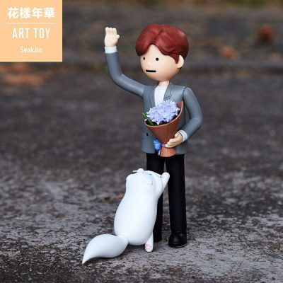 BTS Figura Art Toy Jin | Double Project