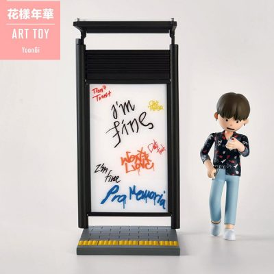 BTS Figura Art Toy Suga (Min Yoon-gi) | Double Project