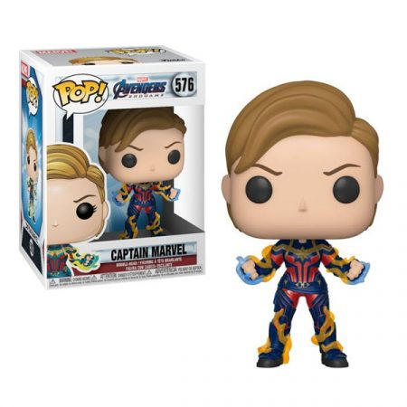Marvel Endgame POP Captain Marvel with New Hair | Double Project