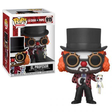 La casa de Papel POP El Profesor O Clown | Double Project