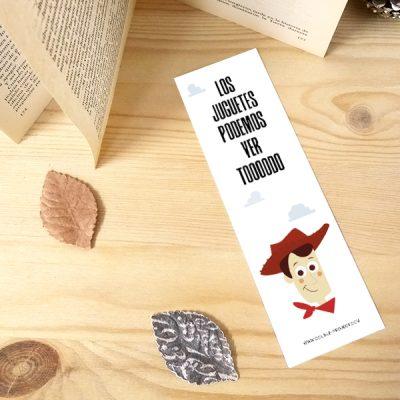 Punto de libro Los juguetes podemos ver Toooodo | Double Project