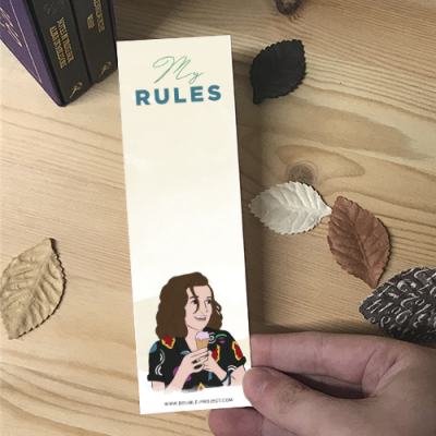 Punto de libro Eleven My Rules | Double Project