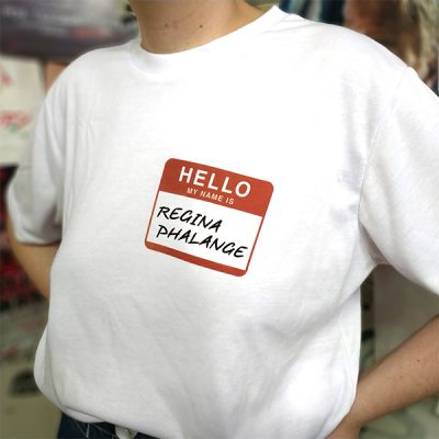 Camiseta My Name is Regina Phalange | Double Project